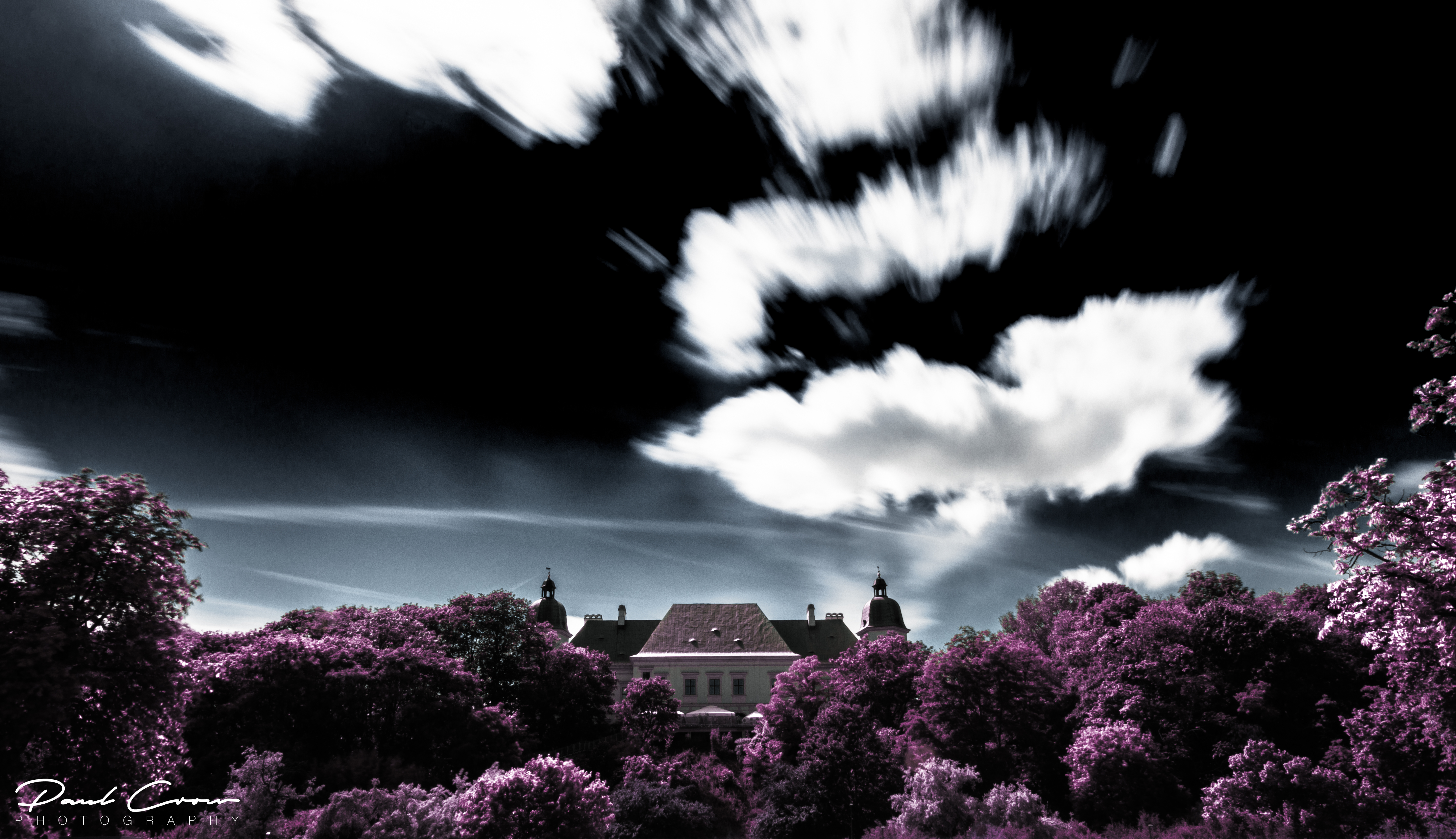 Agrykola Park in Infrared