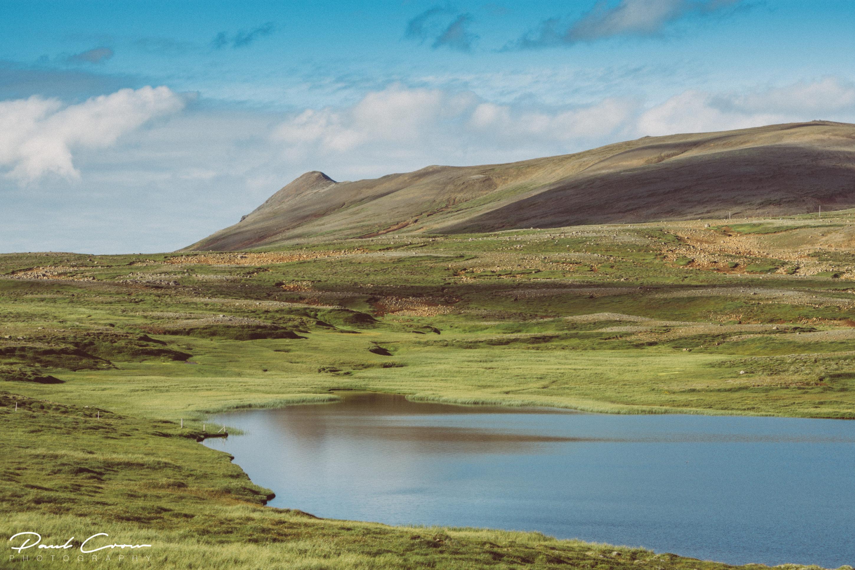 Icelandic northern landscape