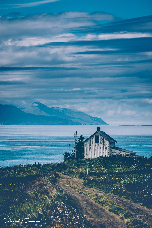 Abandoned house in the Húsavík area