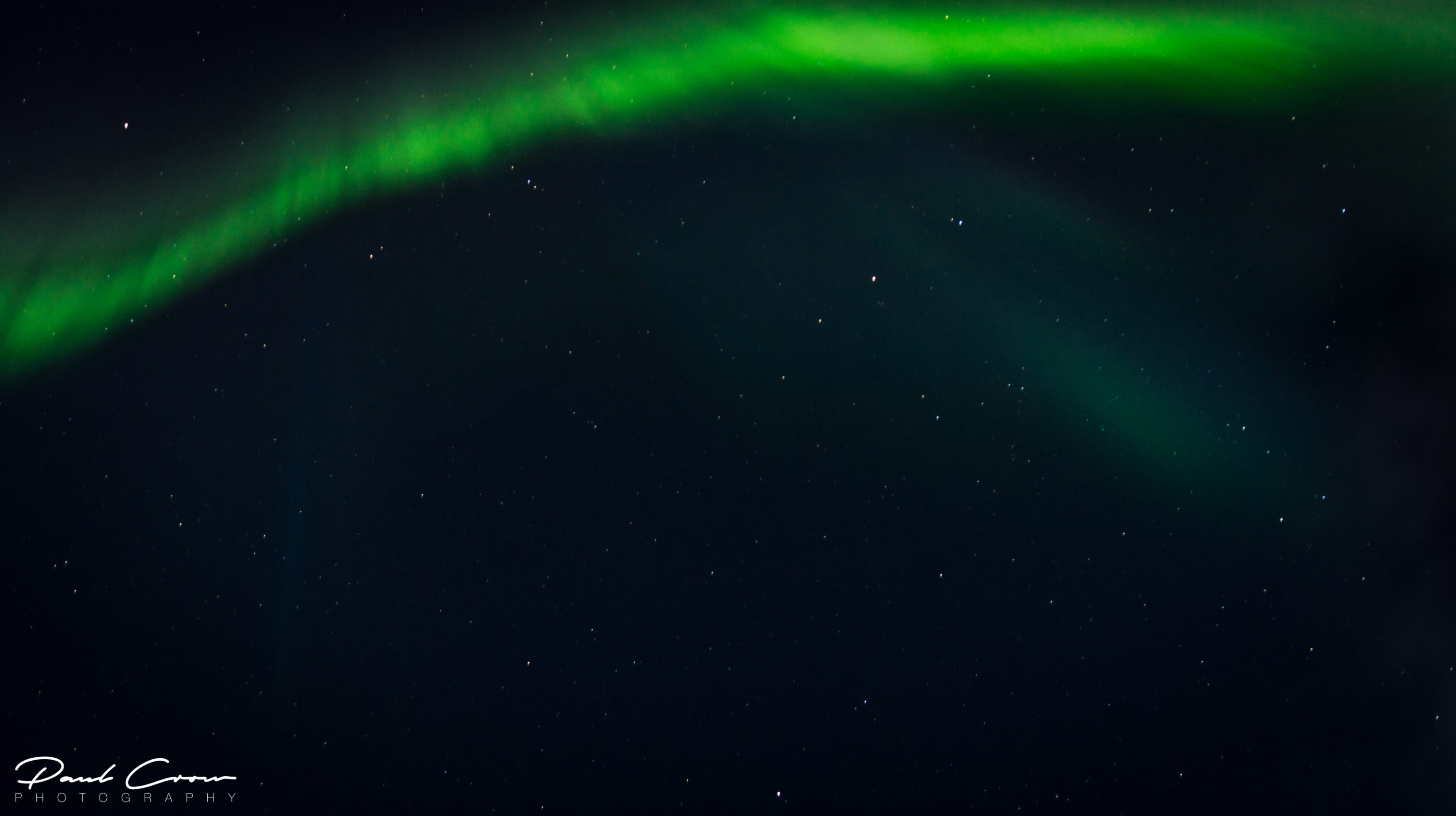 The power of Northern Lights in Lapland