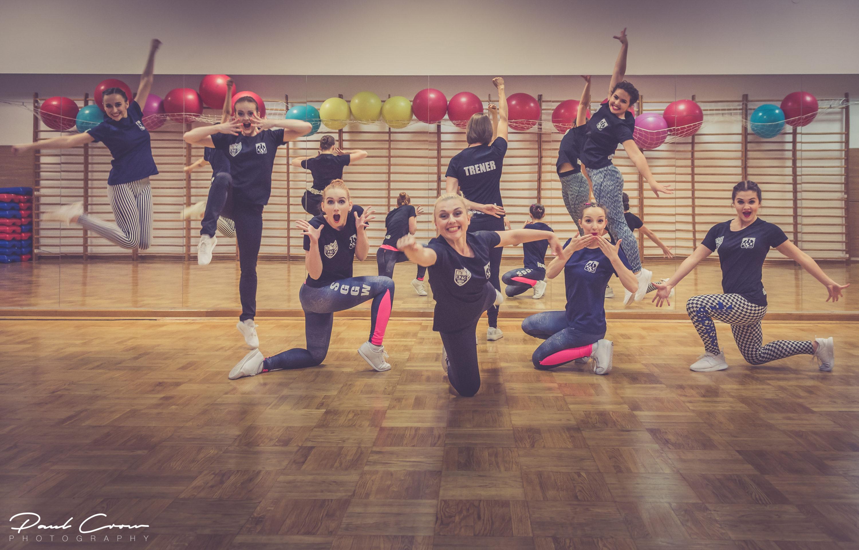 AZS SGGW Sports Aerobics Team photoshoot