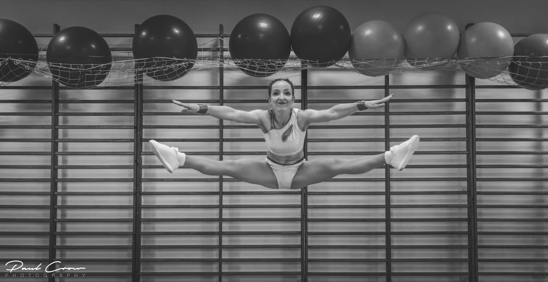 Photoshoot  of AZS SGGW Sports Aerobics Team