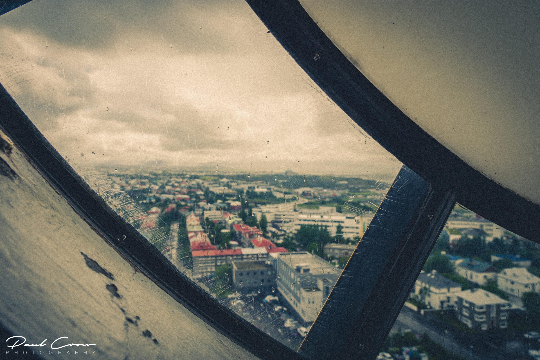 View from the top of Hallgrímskirkja
