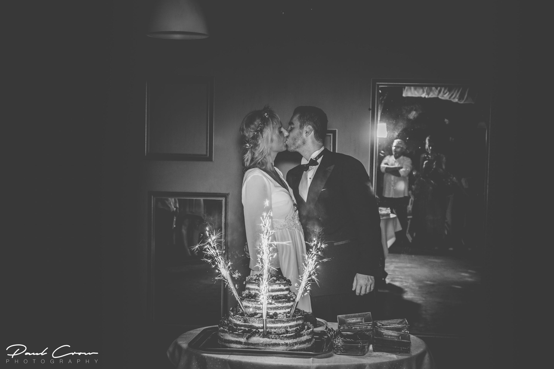 A&M Wedding Cake