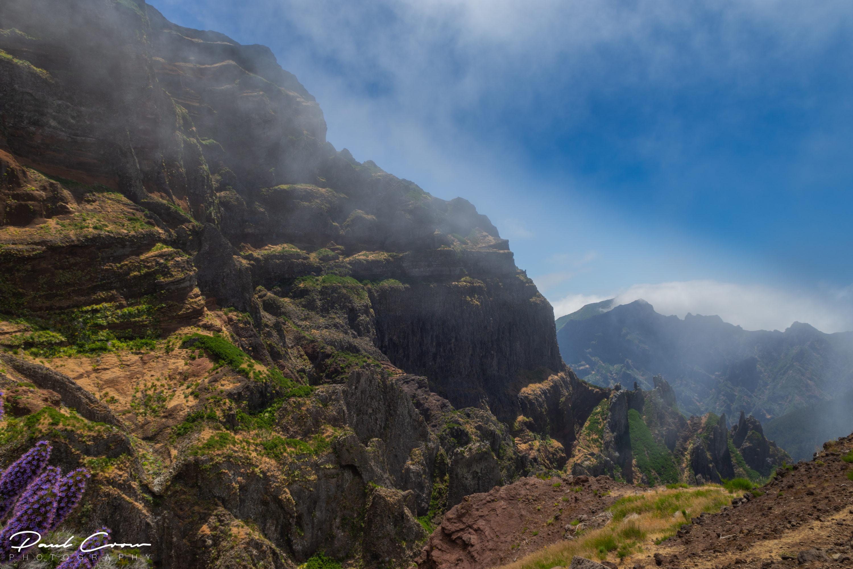Half way to Pico Arieiro views