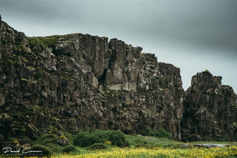Shapes of Þingvellir National Park