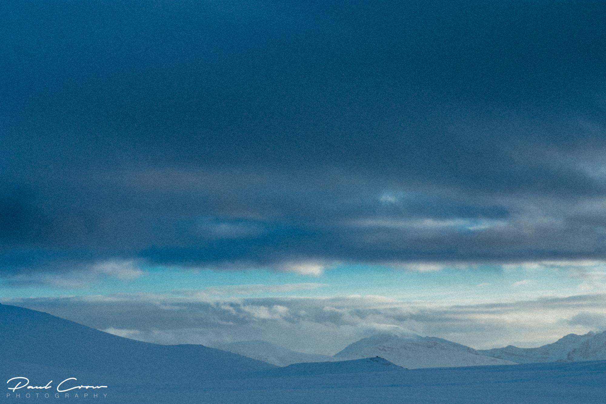 Fjellheisen snowy landscape