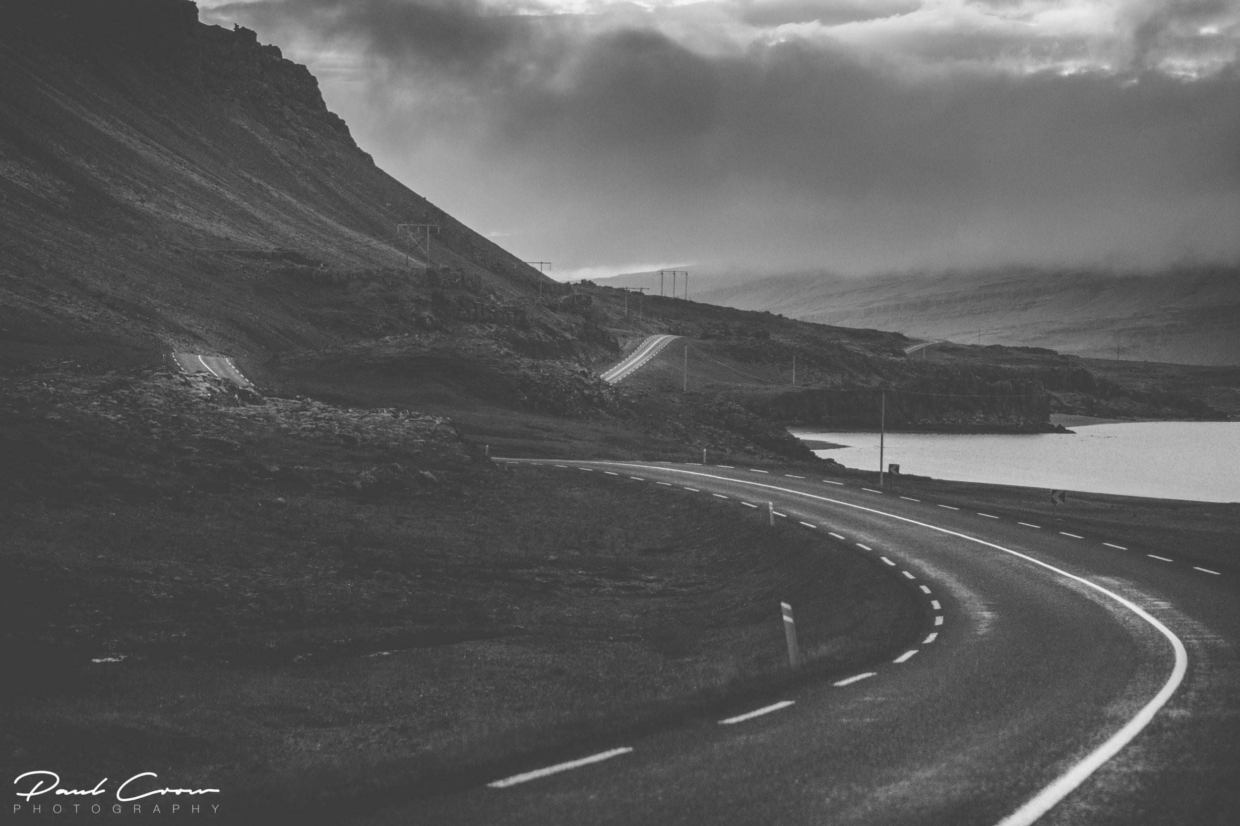 Curved roads to Stöðvarfjörður